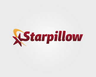 Star Pillow Logo Design