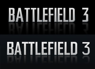 Battlefield 3 Text Effect in Photoshop