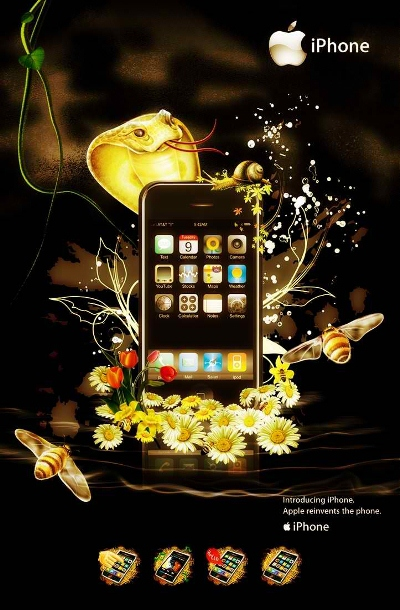 iPhone 3 - Warm version