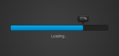 Progress Bar UI PSD