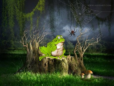 Create Cartoon Illustration from a Photo Manipulation