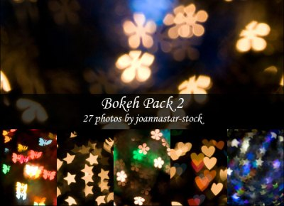 Download Shapes Bokeh Pack