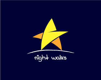 Night Walks Logo Design