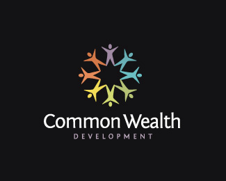 Common Wealth Development Logo Design