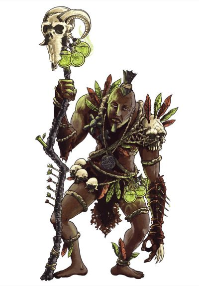 How to Create a Witch Doctor Character Concept in Photoshop