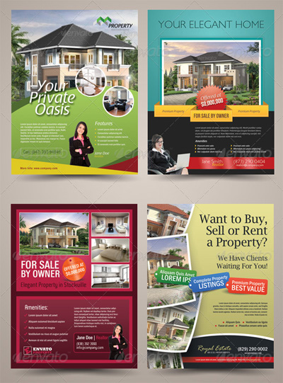 Premium Real Estate Flyer Templates