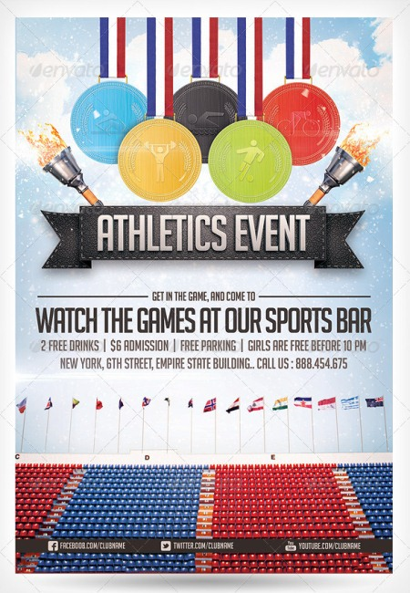 Athletics Sports Flyer