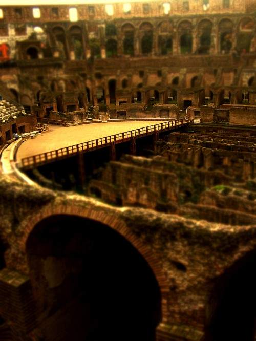 Amphitheatrum Tilt-Shift Photography