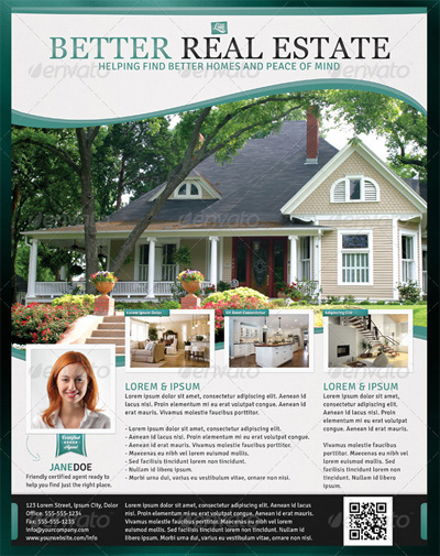 Better Real Estate Flyer Template
