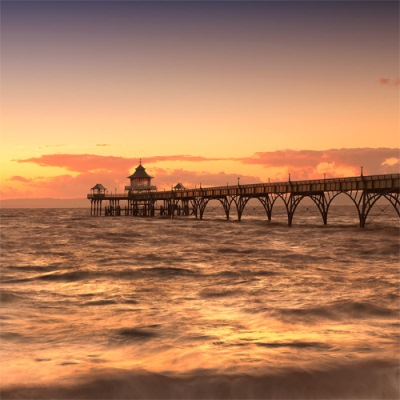 Clevedon Pier Wallpaper