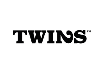 Typographic Logo Design: Twins