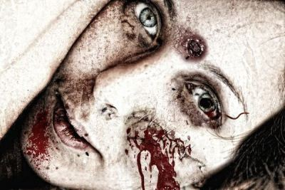 Photo Manipulation Effects: Zombie Girl