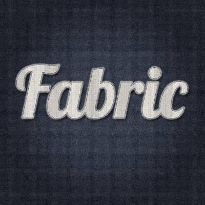 Create an Easy Stitched Fabric Type Style in Photoshop