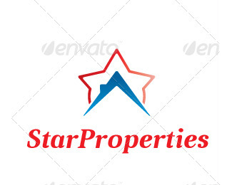 Star Properties Logo Template