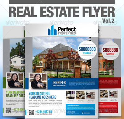 Real Estate Flyer Vol.2