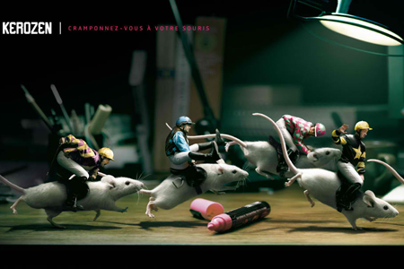 Kerozen: Mice Animal Advertisements