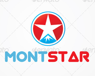 Mont Star Logo Template