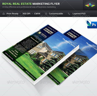 >Royal Real Estate Marketing Flyer