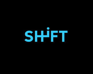 Typographic Logo Design: Shift