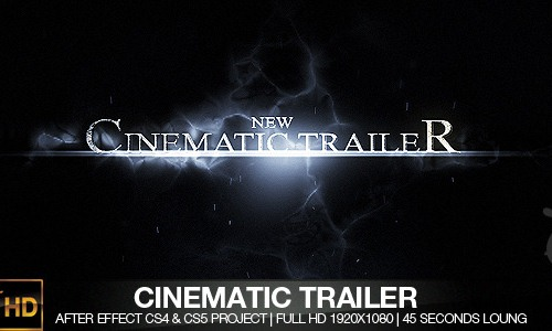 Cinematic Trailer CS4 & CS5
