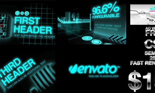 25 after effects templates for futuristic presentations futuristic and ambient occlusion openers toneelgroepblik Images