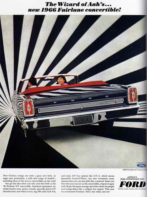 Ford Fairlane Retro Ads
