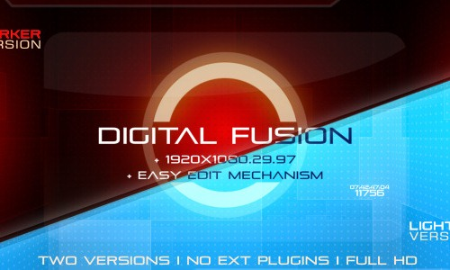 25 after effects templates for futuristic presentations, Presentation templates