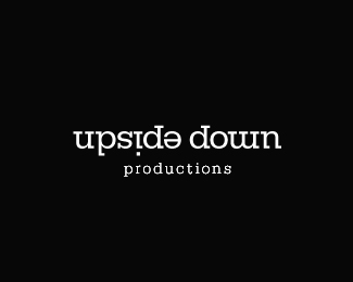 Upside Down Productions Logo Design