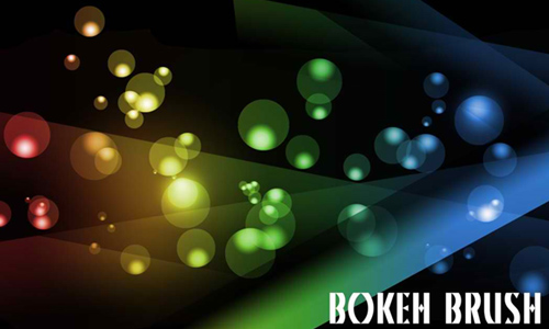 Photoshop Bokeh Effect Brushes