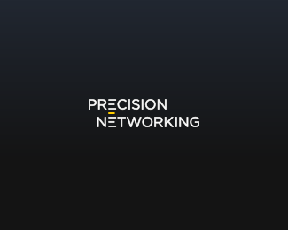 Precision Networking Logo Design