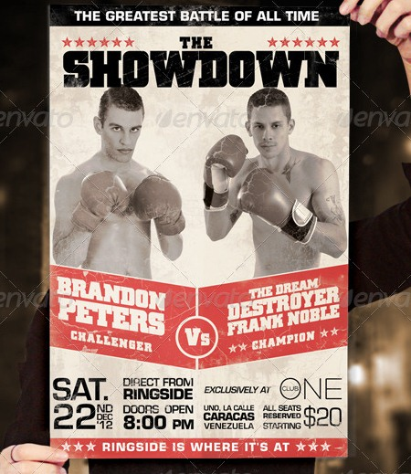 Showdown Fight Poster