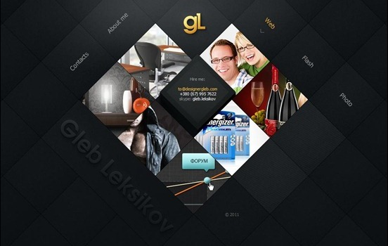 20 Fantastic Diagonal Website Design for Inspiration