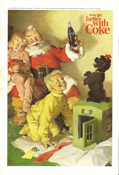 Coke Vintage Advertisement