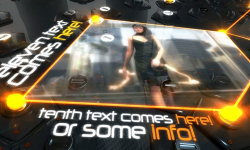 25 after effects templates for futuristic presentations, Powerpoint templates