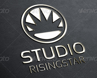 Rising Star Logo Template