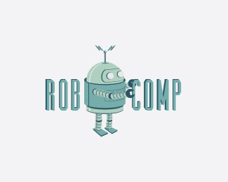 Rob-Comp Logo Design