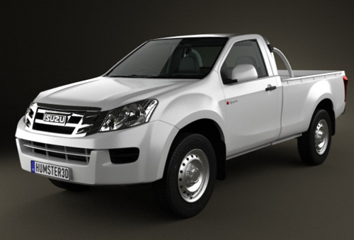 Isuzu D-Max Single Cab 2012