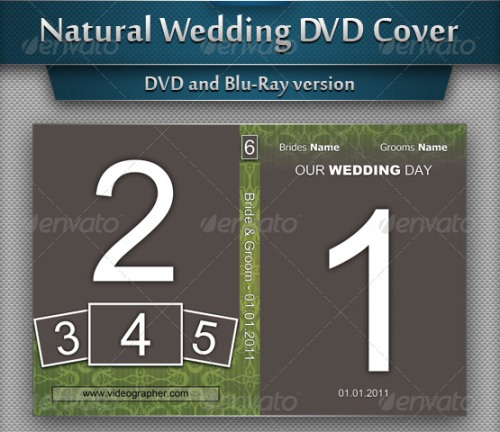 Natural Wedding DVD Cover