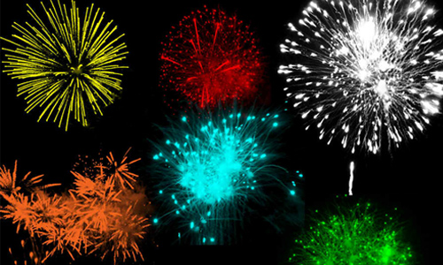 Free Fireworks Brushes