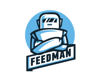 FeedMan Logo Design