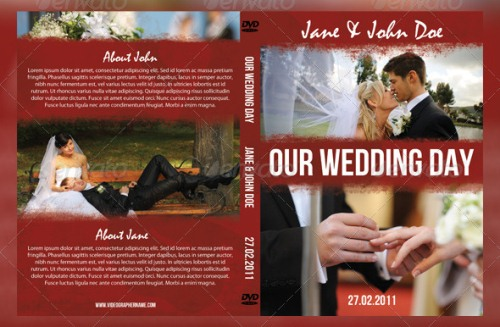 Our Wedding Day Template