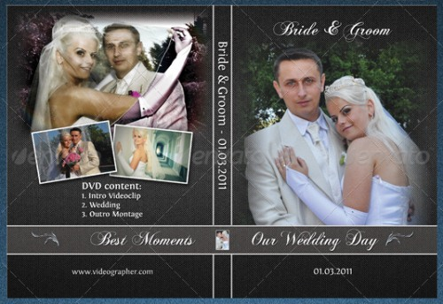 Elegant Wedding DVD Cover