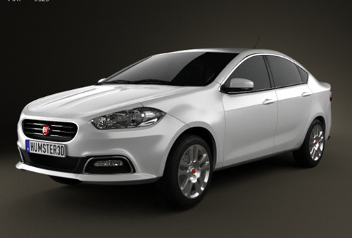 Fiat Viaggio 2013 - 3D Car Models