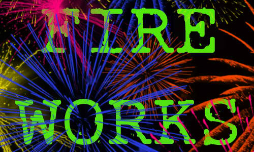 Set of Fireworks Brushes