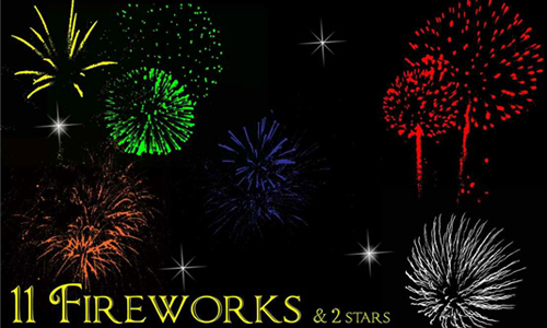Fireworks Brush Set