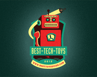 Best Tech Toys Reward Emblem