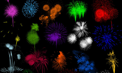 Free Photoshop Fireworks Brushes
