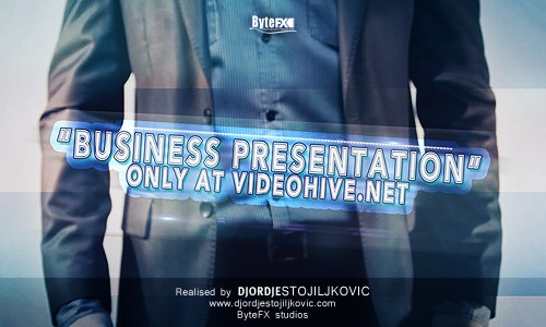 20 after effects templates for business presentations, Presentation templates