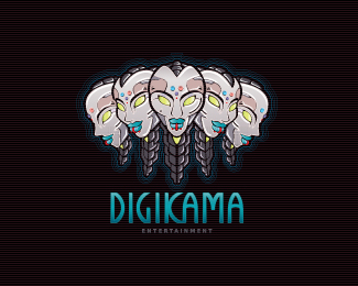 Digikama Logo Design