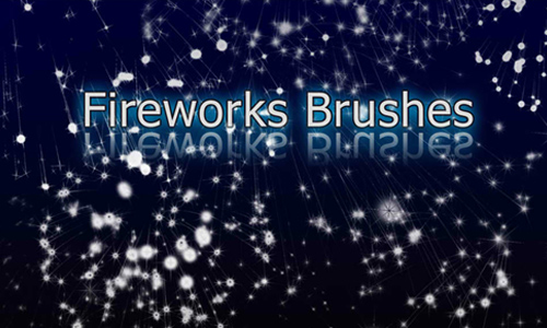 Fireworks Celebration Brushes